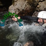 Ekilibre.64 goulet aquatique saint michel canyoning Pays-Basque